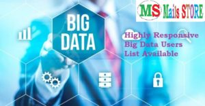Big Data Users List - Big Data Users Email List - Big Data Users Mailing List - Big Data Users Email Addresses