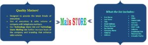 Mails Store-Technology Users Email Lists - Technology Users Mailing Lists - Technology Users Email Addresses - Technology Users Mailing Addresses