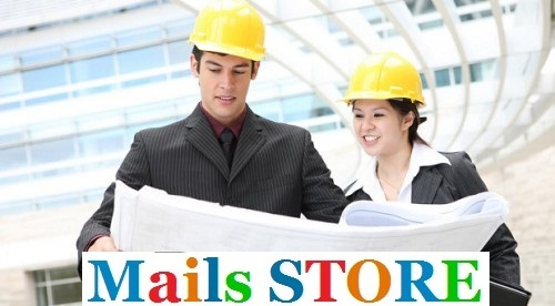 Construction Engineers Email Lists - Mailing Lists - Addresses - Mails STORE