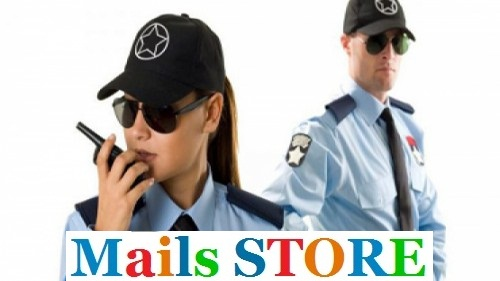 Security Supervisors Email Lists - Mailing Lists - Addresses- Mails STORE